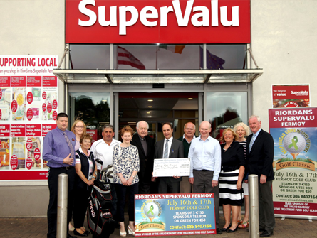 Riordan's SuperValu sponsors the Sinead Shines – Sinead Kearney Lyme Treatment Fund Golf Classic.