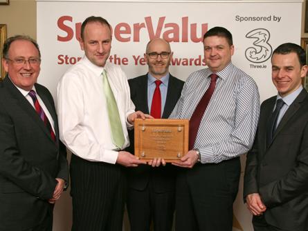 Riordan's SuperValu Celebrates being one of the Top 12 SuperValu Stores in the Country.