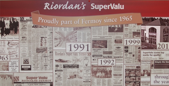 RIORDAN'S SUPERVALU OUR HISTORY