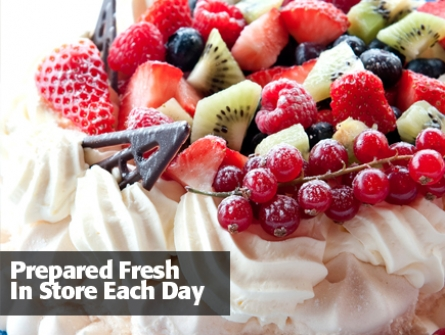 Prepared Fresh In Store Each Day